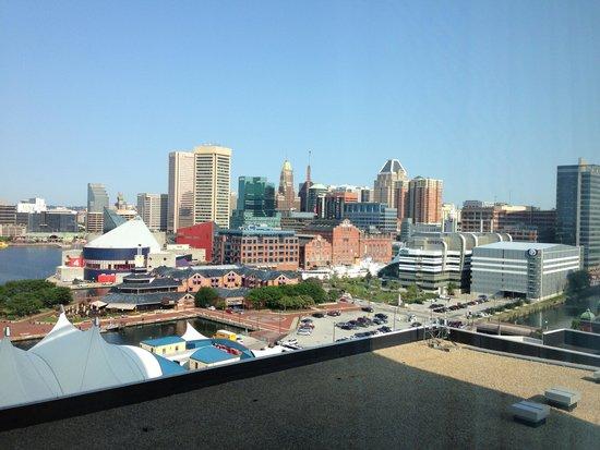 Baltimore Marriott Waterfront: Inner Harbor Skyline