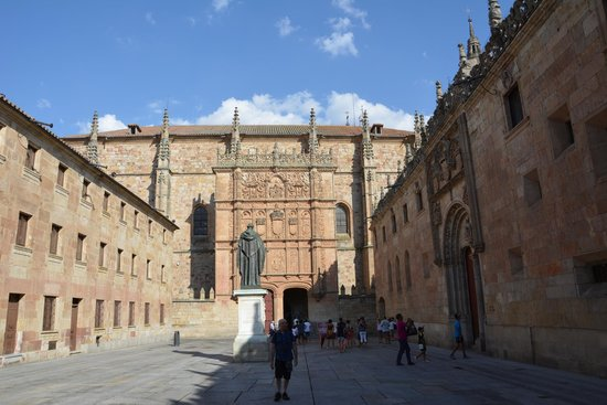 Universidad de Salamanca: Patio