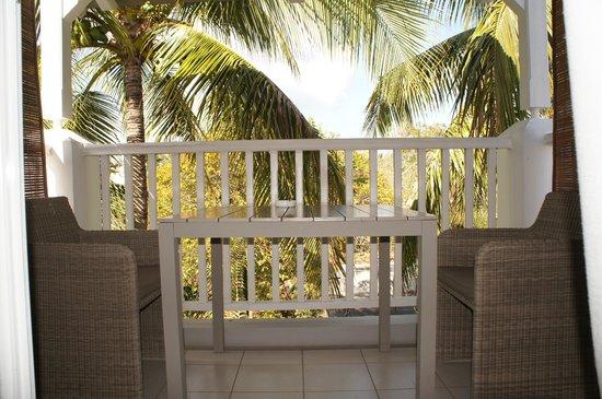 Mon Choisy Beach R.: Балкон