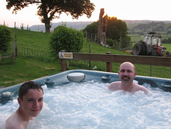 Trewythen Lodges: Chilled out