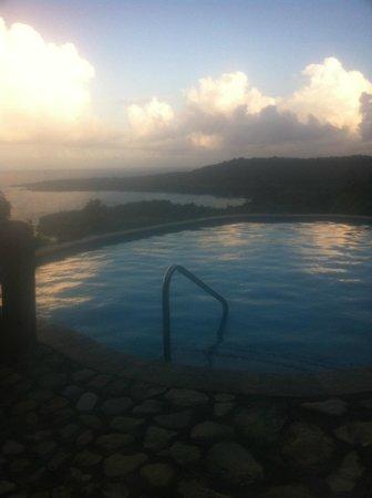 Caribbean Dawn: Pool View