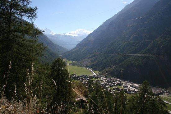 Täsch mit Kl. Matterhorn & Breithorn