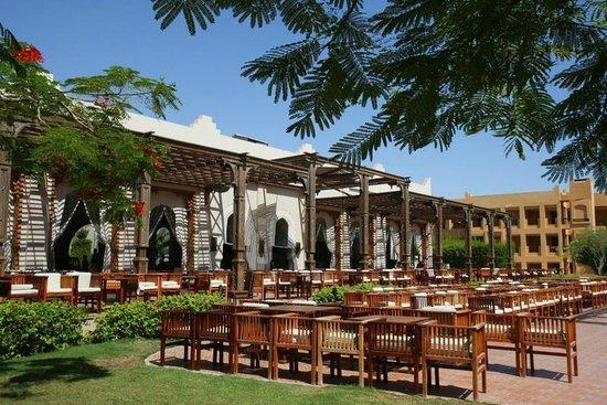 Stella Di Mare Beach Resort & Spa Makadi Bay : Terrasse