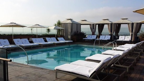 SIXTY Beverly Hills : Rooftop Pool
