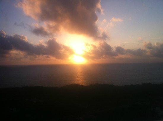 Caribbean Dawn: Beautiful Sunrise