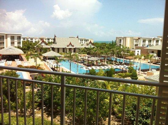 Hotel Playa Cayo Santa Maria : Vue de notre chambre au 3e étage, bungalow 1