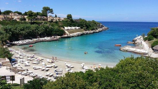 Le Cale d'Otranto Beach Resort : La baia del resort
