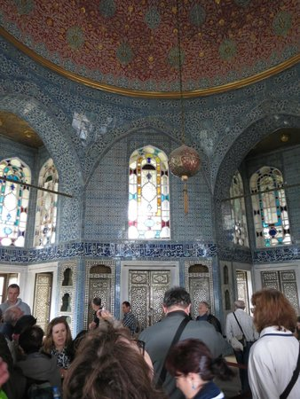 Topkapi Palace : x