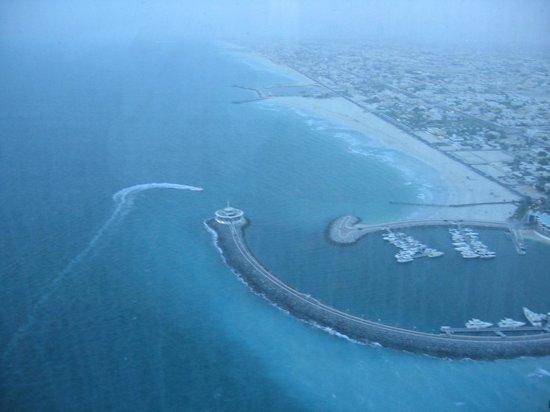 Burj Al Arab Jumeirah : skyview bar'dan manzara