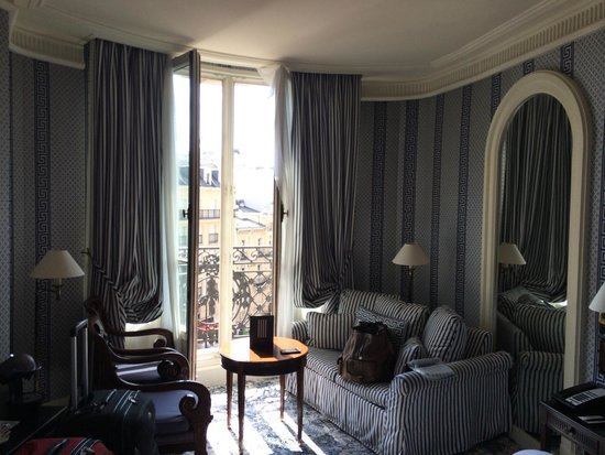 Le Dokhan's, a Tribute Portfolio Hotel : Balcony window with great views