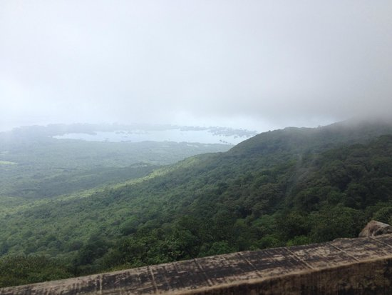 Mombacho Volcano: view from the top
