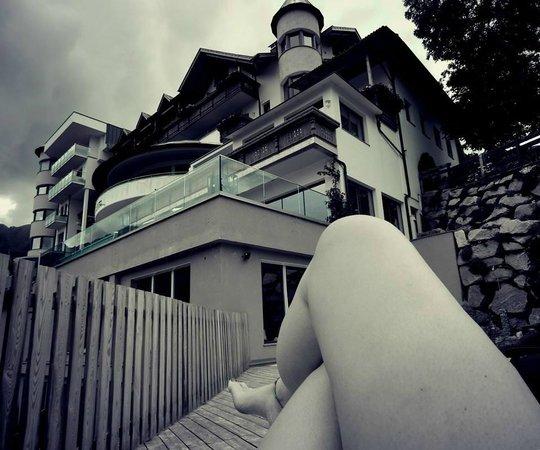 Bärenhotel: terrazza