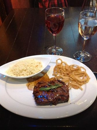 Tribes African Grill & Steakhouse: Great meal with a nice wine pairing
