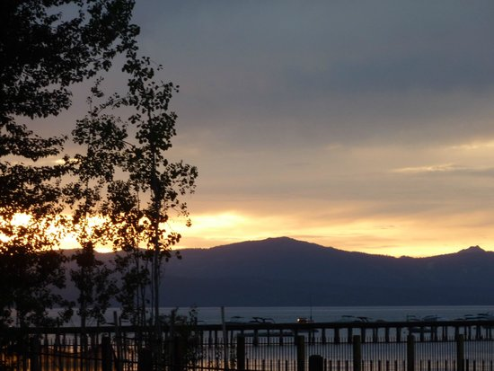 Howard Johnson South Lake Tahoe: La vue depuis l'hôtel