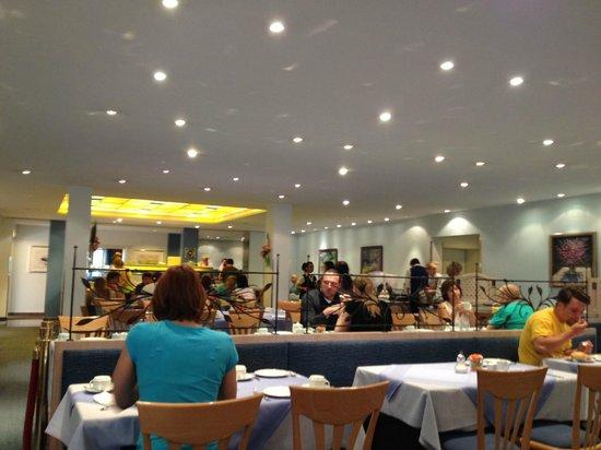 Hotel Am Moosfeld: Breakfast area