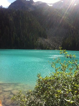 Joffre Lakes Provincial Park : This is nothing compare to what you are gonna see!