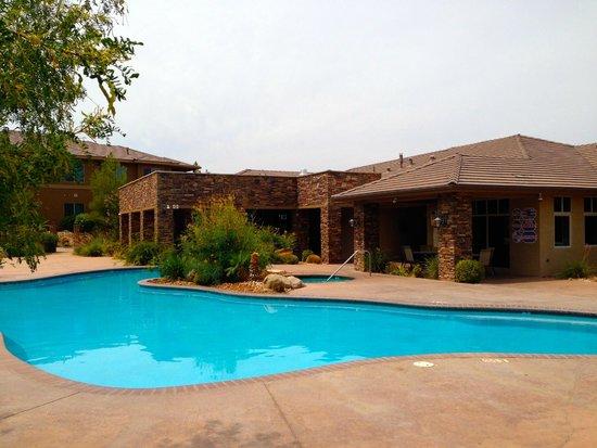 Coral Springs Resort: Outdoor Pool; Aug 2 2014