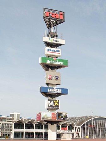 Amsterdam RAI : Advertisement Tower of RAI