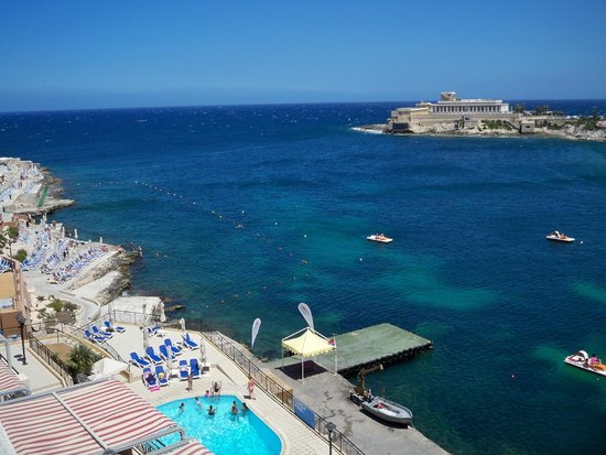 Marina Hotel Corinthia Beach Resort: vista dalla camera 7535