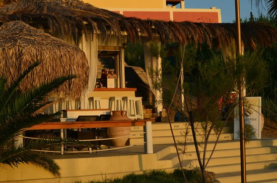 Delfino Blu Boutique Hotel: The beach bar