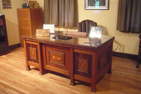 Boys Town: The desk the Boys made for Father Flanagan