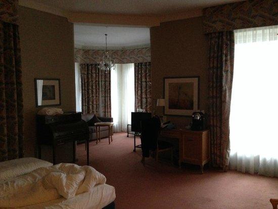 Lindner Grand Hotel Beau Rivage: Das Zimmer war sehr geräumig.