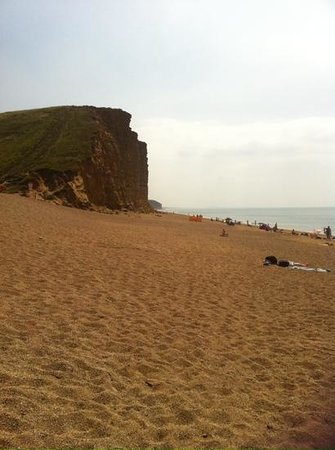West Bay Harbour: Beautiful beach at West Bay