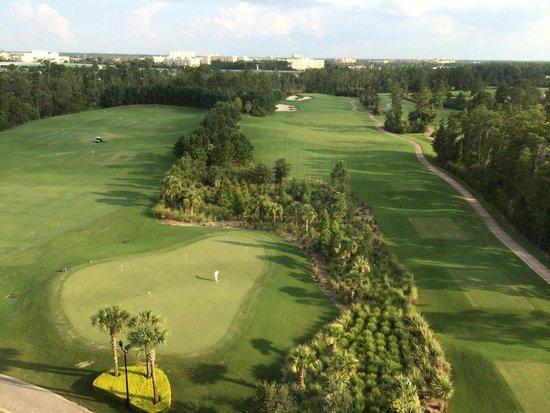 Waldorf Astoria Orlando : Our golf course view