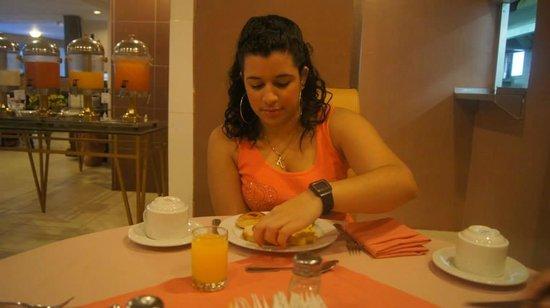 Continental Hotel & Casino: En el comedor