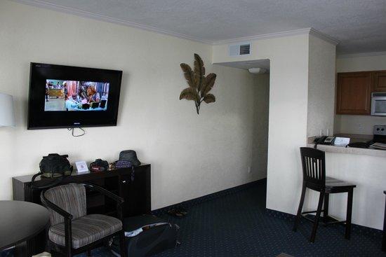 Sailport Waterfront Suites : salle