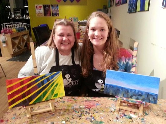 Arte Wine and Paint: Best Birthday Ever!!