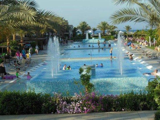 Jaz Aquamarine: einige der vielen Pools