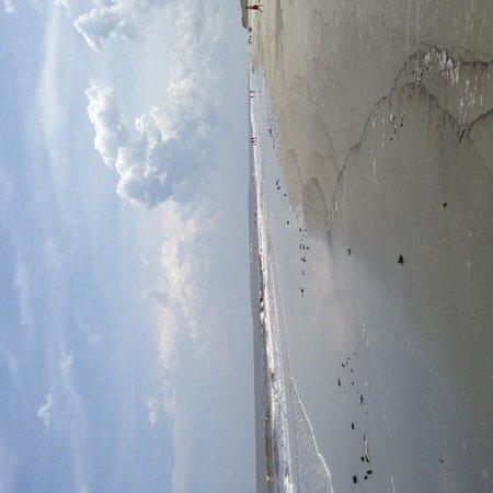 Hampton Inn & Suites Jekyll Island : Beautiful beach