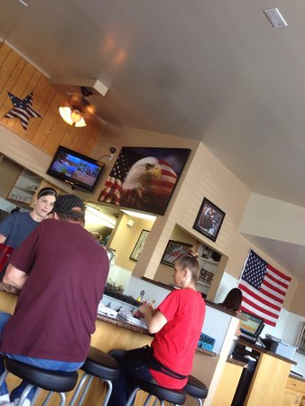 All American Diner: Nice place to eat.