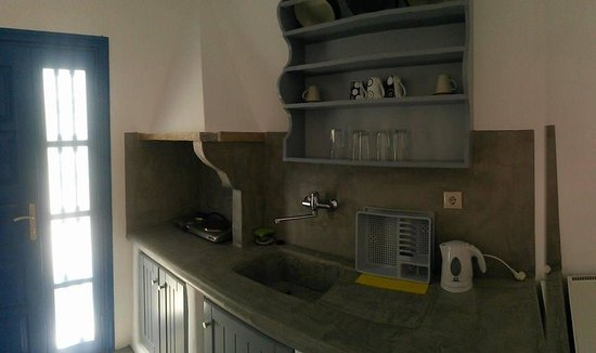 Island House Hotel Studios Apartments: angolo cucina