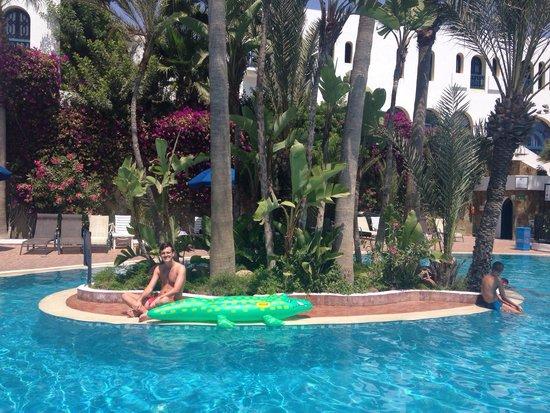 Ryad Mogador Al Madina: Swimming pool island