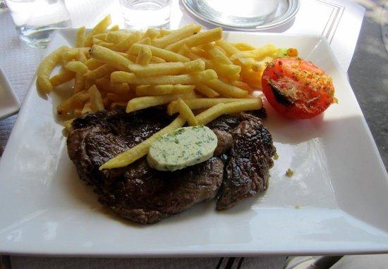 Le Malakoff: Steak and fries