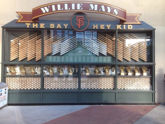 AT&T Park: Really cool memorabilia