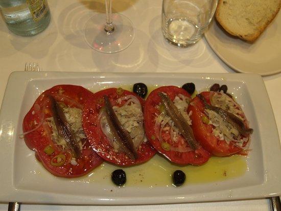 Remigio : Ensalada de tomate