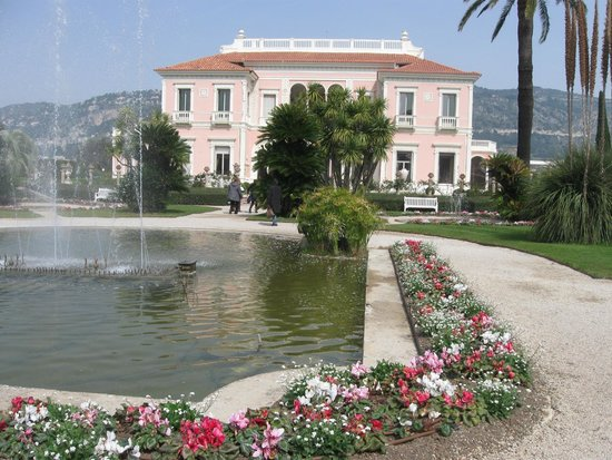 Insegna picture of villa jardins ephrussi de for Jardin villa rothschild