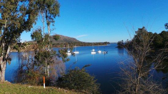 Los Molinos Hotel & Resort: vista del lago