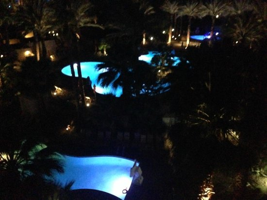 Hyatt Regency Indian Wells Resort & Spa: Night View
