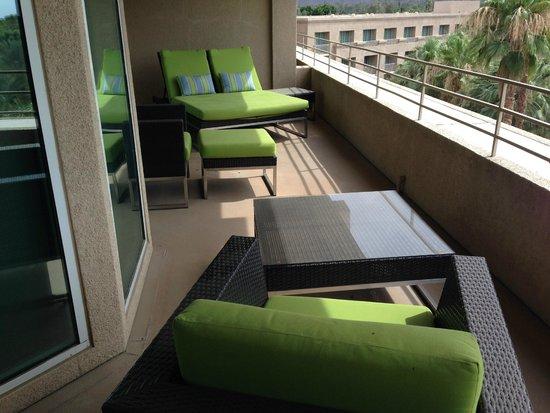 Hyatt Regency Indian Wells Resort & Spa: Balcony