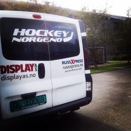 Hamar Hostel Vikingskipet: Deilig med bilen parkert rett utenfor døra...