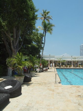 Hotel Caribe: tropical pool area