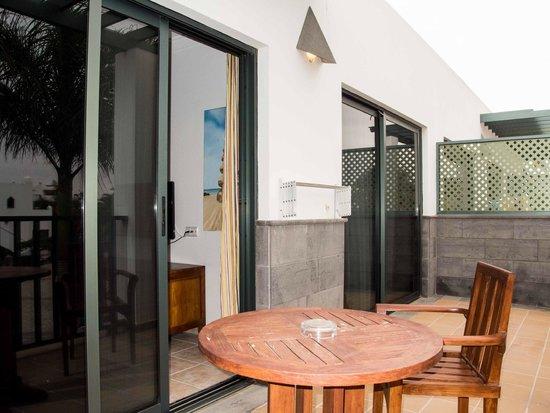 Las Marismas de Corralejo : Balcony to Room