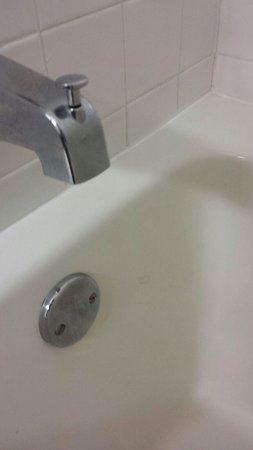Ramada Ligonier: Hair in tub and on soap holder