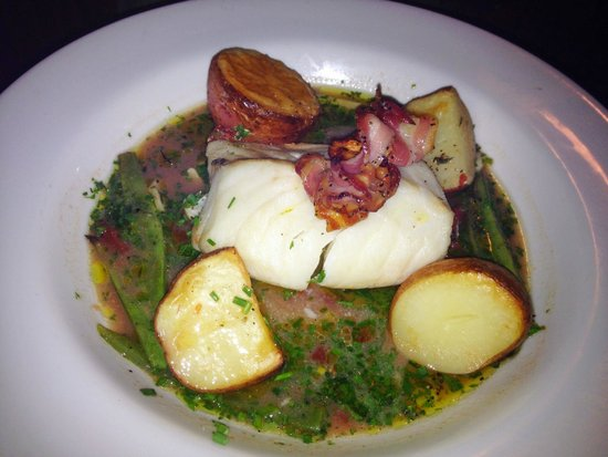 Burning Tree: Codfish and Pancetta