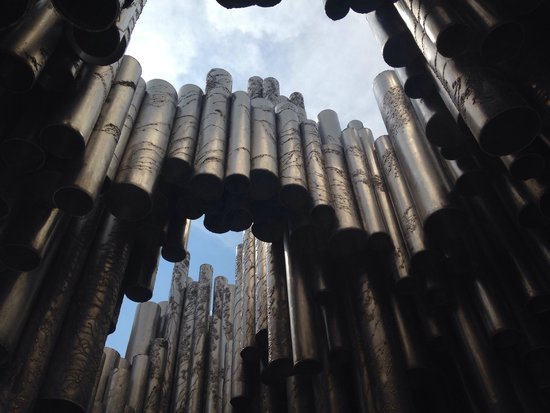 The Sibelius Monument : It's cooling here