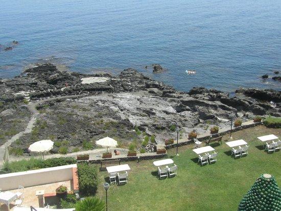 Arathena Rocks Hotel: vue depuis notre chambre